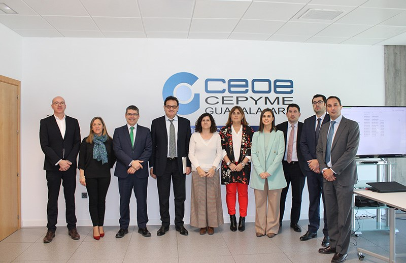 The Euro-Asian Business Alliance visits Puerta Centro - Ciudad del Transporte